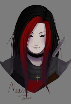 Alaina - Commission by luvocere
