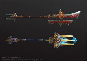 Mist of Pandaria Weapons 2 by turpedo