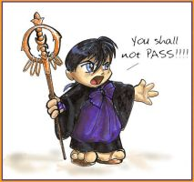 Miroku: You Shall Not Pass by GoblinQueeen