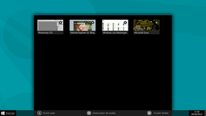 Thumbnails of taskbar windows 8 concept by JoaoFernandoJFMX