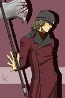 P3P - Aragaki Shinjiro by emeraudolupus