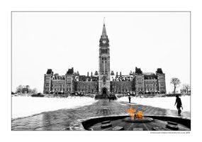 Canadian Parliment Building by Bartonbo