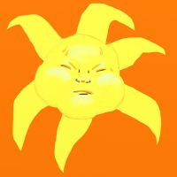Poor Mister Sun by katiejo911