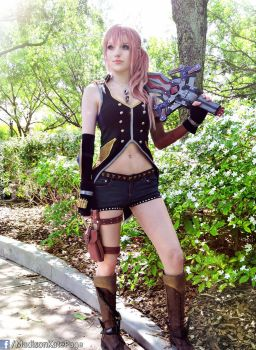Style and Steel Serah Cosplay FF13-2 by AlysonTabbitha