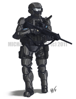 CATALYST - SDF Shock Trooper by Renerade