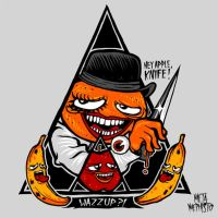 Annoying Clockwork Orange by MetaMephisto
