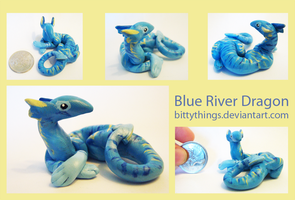 Blue River Dragon - SOLD by Bittythings