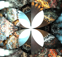 Abstract Butterfly by Seraphim-Sisters