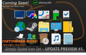 Simply Styled UPDATE PREVIEW #1 by dAKirby309