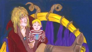 Jareth and Toby by saphirerose22193