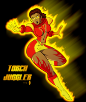 Torch Juggler - complete by Dualmask