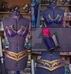 League of Legends  - Morgana props by RubeeAmadare