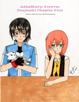 AshxMisty: Forever Doujinshi Chapter Four Cover by Kisarasmoon