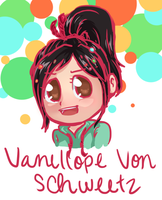 Vanellope ouo by PastaIsALie