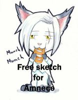 Free sketch for Amneco by mikanrock
