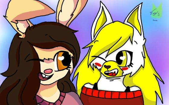 .:GIFT:. for SpringBelleBunny \Belle and Yuki\ by MissSans