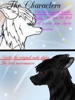 The Howling Dawn Chronicles prologue page1 by Mossshadow13