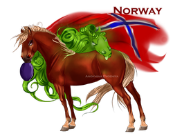 Horse Hetalia: Norway by MUSONART