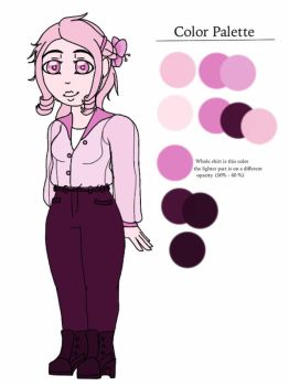 Amhi Character Ref by Braveytehcat