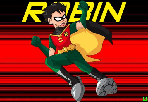 Robin the Boy Wonder by digital-strike