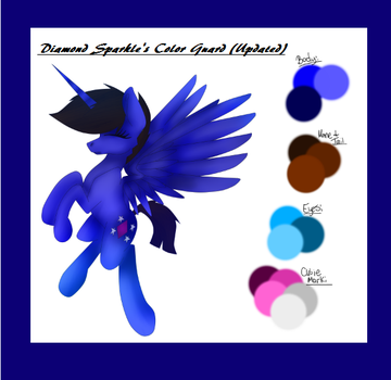 Diamond Sparkle's Color Guard (Updated) by Diamond1997