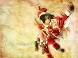 Merry Christmas by Yuleen75
