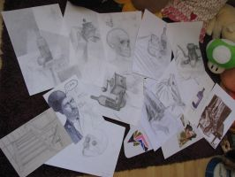 Some of my drawings by Sophie-shoots
