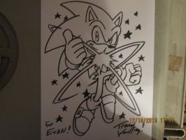 Ultra Sonic by Tracy Yardley! by SonicWindAttack