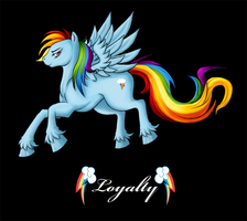 Rainbow Dash - Gift by xx-Rune-xx