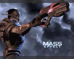Mass Effect Wallpaper by 2ndKrueger