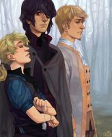 A Trio by lastlabyrinth