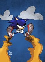 Parkour Sonic by DaveTheSodaGuy