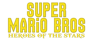 Super Mario Bros Heroes of the Stars Logo by KingAsylus91