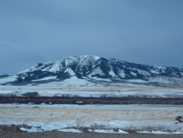 Snowy Mountain by MoonStar18
