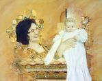 Homage to Klimt by padfootsmyhero