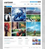 Cartoon: Responsive Portfolio/Blog/Corporate Theme by ait-themes