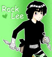 Rock Lee by Kyoca