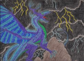 Bringer of Storms by DRAGONLOVER101040