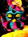 Shirley the Furby by bunniesRawesome
