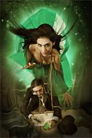 green fairy by Heile
