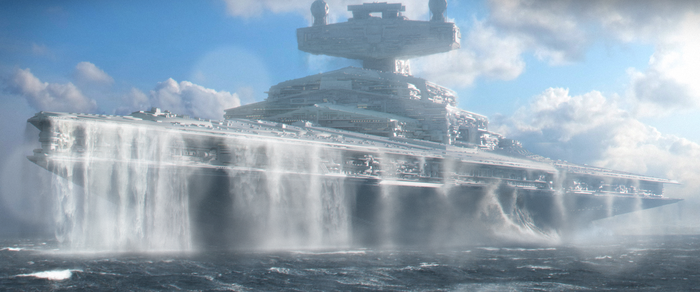 Star Wars - Star Destroyer H - Mon Cala Expedition by BB22Andy