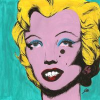 Marylin Monroe - Andy Warhol Copy by reasonablygay
