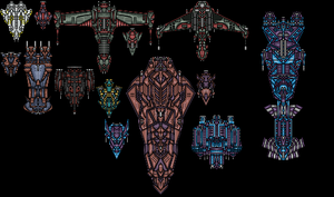 Spaceships by FinalAffliction