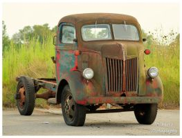 An Old Ford Truck Type Unknown by TheMan268