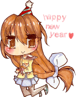 Happy New Year! by NatWithLeCopic