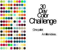 30 Days of Color Challenge by thelilartist