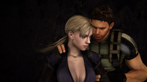 Chris Redfield and Jill Valentine 2 by ceriselightning