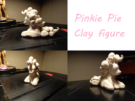 Pinkie Clay Figure by thepiplup