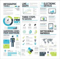 Free Vector Infographic Elements by DarkStaLkeRR