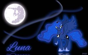 Princess Luna by TryHardBrony